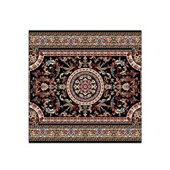 Vectorized Traditional Rug Style Of Traditional Patterns Satin Bandana Scarf