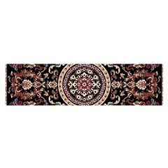 Vectorized Traditional Rug Style Of Traditional Patterns Satin Scarf (oblong)