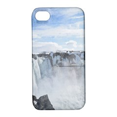 Falls Apple Iphone 4/4s Hardshell Case With Stand