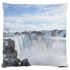Falls Large Cushion Case (one Side)