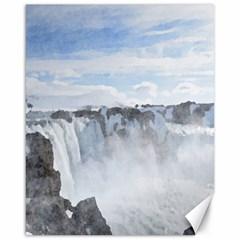 Falls Canvas 16  x 20