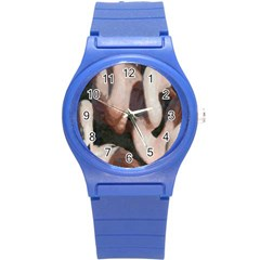 Flamingo Hustle Round Plastic Sport Watch (S)