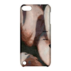 Flamingo Hustle Apple iPod Touch 5 Hardshell Case with Stand