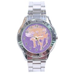 Jelly Baby Stainless Steel Analogue Watch