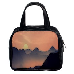 Mountains Classic Handbags (2 Sides)