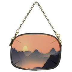 Mountains Chain Purses (Two Sides)