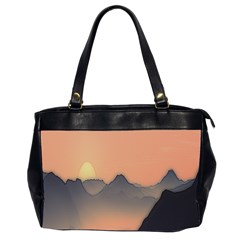 Mountains Office Handbags (2 Sides)