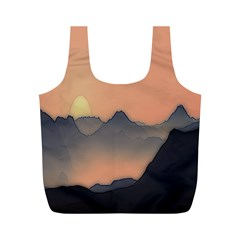 Mountains Full Print Recycle Bags (m)