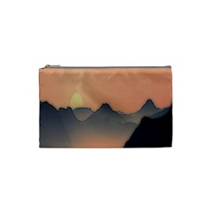 Mountains Cosmetic Bag (Small)