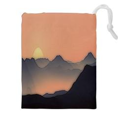 Mountains Drawstring Pouches (xxl)