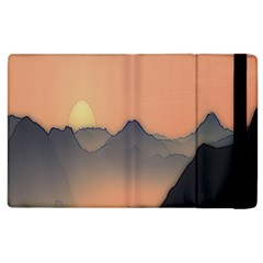 Mountains Apple Ipad 3/4 Flip Case