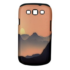 Mountains Samsung Galaxy S Iii Classic Hardshell Case (pc+silicone)