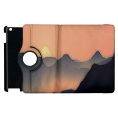 Mountains Apple Ipad 2 Flip 360 Case