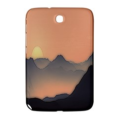 Mountains Samsung Galaxy Note 8 0 N5100 Hardshell Case