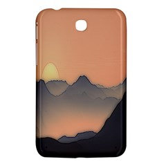 Mountains Samsung Galaxy Tab 3 (7 ) P3200 Hardshell Case