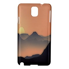 Mountains Samsung Galaxy Note 3 N9005 Hardshell Case