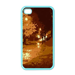 Night Lights Apple Iphone 4 Case (color)
