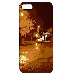 Night Lights Apple iPhone 5 Hardshell Case with Stand