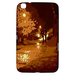Night Lights Samsung Galaxy Tab 3 (8 ) T3100 Hardshell Case