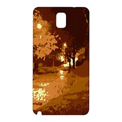 Night Lights Samsung Galaxy Note 3 N9005 Hardshell Back Case
