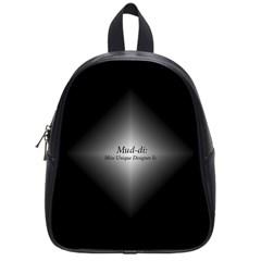 Mud Di Diamond Icon School Bag (small)
