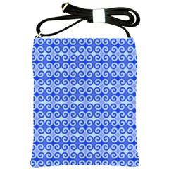 Blue Moroccan Shoulder Sling Bags