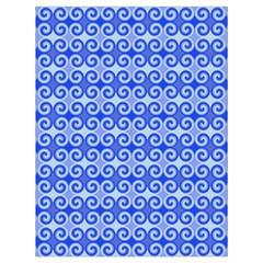 Blue Moroccan Drawstring Bag (Large)