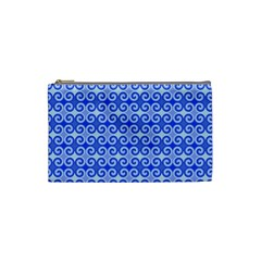 Blue Moroccan Cosmetic Bag (Small)