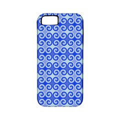 Blue Moroccan Apple iPhone 5 Classic Hardshell Case (PC+Silicone)