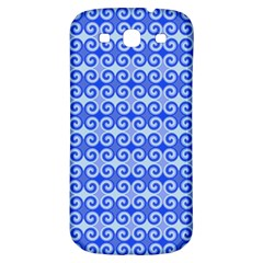 Blue Moroccan Samsung Galaxy S3 S Iii Classic Hardshell Back Case