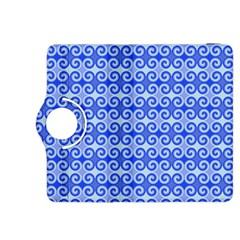 Blue Moroccan Kindle Fire Hdx 8 9  Flip 360 Case