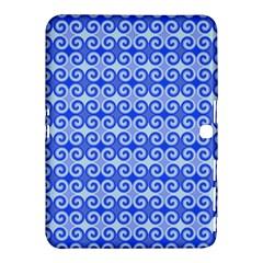 Blue Moroccan Samsung Galaxy Tab 4 (10.1 ) Hardshell Case