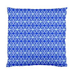 Blue Moroccan Standard Cushion Case (two Sides)