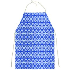 Blue Moroccan Full Print Aprons
