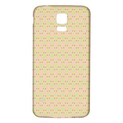 Busy Feet Samsung Galaxy S5 Back Case (White)