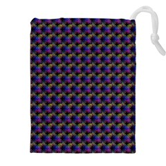 Celtic Bell Flowers Drawstring Pouches (xxl)