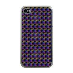 Celtic Bell Flowers Apple Iphone 4 Case (clear)