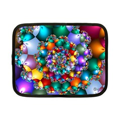Rainbow Spiral Beads Netbook Case (Small)