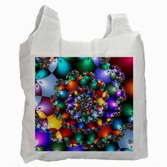 Rainbow Spiral Beads Recycle Bag (One Side)
