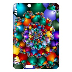 Rainbow Spiral Beads Kindle Fire HDX Hardshell Case