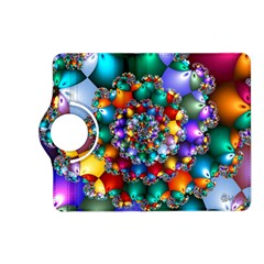 Rainbow Spiral Beads Kindle Fire HD (2013) Flip 360 Case