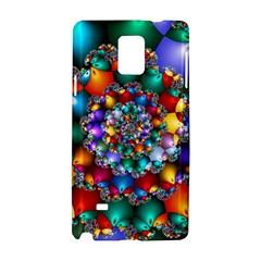 Rainbow Spiral Beads Samsung Galaxy Note 4 Hardshell Case