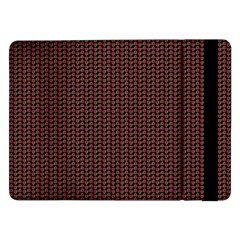 Celtic Knot Black Small Samsung Galaxy Tab Pro 12 2  Flip Case