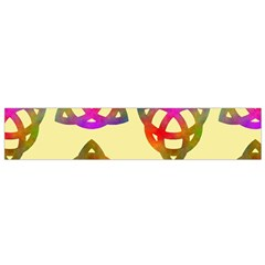 Celtic Knot Pastel Large Flano Scarf (Small)