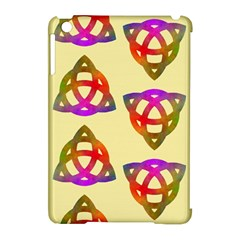 Celtic Knot Pastel Large Apple iPad Mini Hardshell Case (Compatible with Smart Cover)