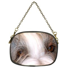 Bearded Collie Eyes Chain Purses (One Side)