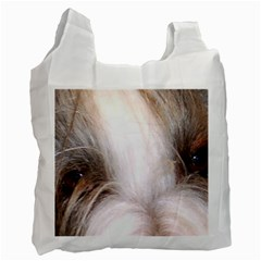 Bearded Collie Eyes Recycle Bag (Two Side)