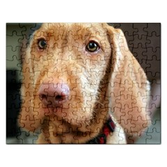 Vizsla second Rectangular Jigsaw Puzzl