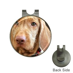 Vizsla second Hat Clips with Golf Markers