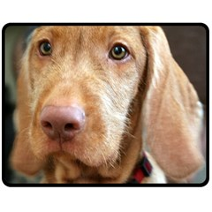 Vizsla second Fleece Blanket (Medium)